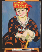 The Red Madras Headdress, 1907 (oil on canvas)