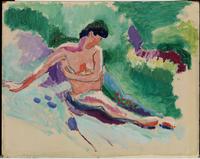 Seated Nude, 1906 (oil on canvas)
