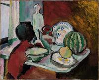 Still Life with Melon, 1905 (oil on canvas)