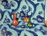 Still Life with Blue Tablecloth, 1906 (oil on canvas)