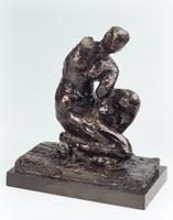 Crouching Venus, 1918-19 (bronze)