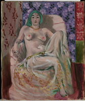 Seated Odalisque, late 1922 (oil on canvas)