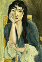 Meditation (Portrait of Lorette), c.1916 (oil on canvas)