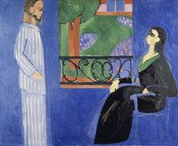 Conversation, 1911 (oil on canvas)