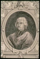 Portrait of Louis Rene Edouard, Prince of Rohan-Guemenee (1734-1803) (engraving)