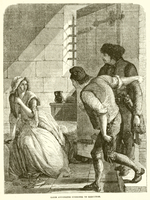 Marie Antoinette summoned to Execution (engraving)