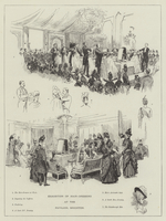 Exhibition of Hair Dressing at the Pavilion, Brighton (engraving)