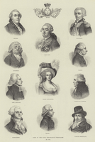 Some of the More Remarkable Personages in 1789 (engraving)