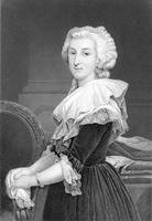 Marie Antoinette (b/w photo)