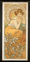 The Precious Stones: Topaz, 1900 (colour litho) 22040249459| 写真素材・ストックフォト・画像・イラスト素材|アマナイメージズ