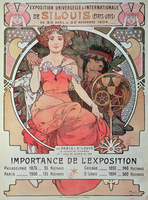 A Poster for the World Fair, St. Louis, United States, 1904 (lithograph)