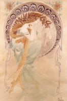 La Poesie, (watercolour on paper) 22040249613| 写真素材・ストックフォト・画像・イラスト素材|アマナイメージズ