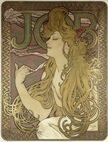 Job, 1896 (colour lithograph on poster paper, framed)