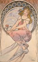 La Peinture, 1898 (watercolour on card)