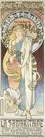 La Samaritaine, 1897 (colour lithograph)