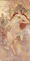 Autumn; Automne, c.1896 (lithograph in colours)