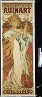 Champagne Ruinart, 1896 (lithograph in colours) 22040249650| 写真素材・ストックフォト・画像・イラスト素材|アマナイメージズ