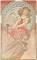 La Peinture, 1898 (colour lithograph) 22040249662| 写真素材・ストックフォト・画像・イラスト素材|アマナイメージズ