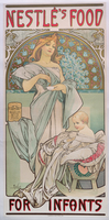 Nestle's Food for Infants, 1897 (colour litho)