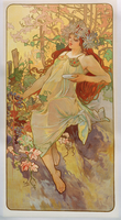 The Seasons: Autumn, 1896 (colour litho) 22040249665| 写真素材・ストックフォト・画像・イラスト素材|アマナイメージズ