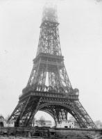 エッフェル塔の建設 パリ(1888年)