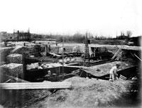 エッフェル塔の建設 パリ(1887年)