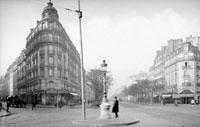 「ル・ドーム」とモンパルナス大通り パリ 1920年頃