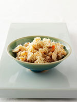 Crabmeat in a dish