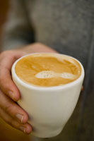 A caffe latte