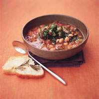Chick-pea soup with vegetables 22199024404| 写真素材・ストックフォト・画像・イラスト素材|アマナイメージズ