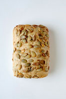 A pumpkin seed roll