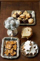 biscuits and sweets for Christmas