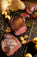 Roast beef for Christmas (various types)