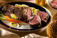 Picanha (roast veal with pine nuts)