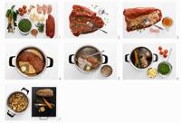 Preparing meat roll 22199035287| 写真素材・ストックフォト・画像・イラスト素材|アマナイメージズ