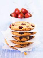 Cherry chocolate chunk cookies