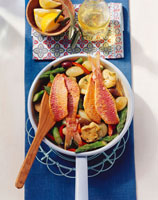 Provencal fish and vegetable dish