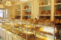 French bakery, Moscow branch