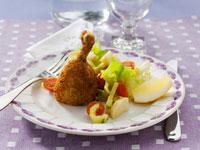 Viennese fried chicken