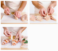 Preparing chicken breast 22199039014| 写真素材・ストックフォト・画像・イラスト素材|アマナイメージズ