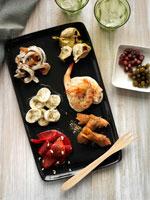 Australian appetisers on a platter