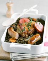petit sale (cured pork)