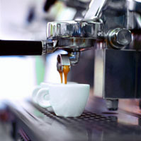 Espresso running out of espresso machine