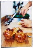 Brioches on a kitchen counter 22199040791| 写真素材・ストックフォト・画像・イラスト素材|アマナイメージズ