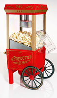 An Old Fashioned Popcorn Cart