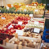 Various types of fruit