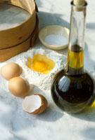 Ingredients for pasta dough