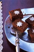 Brownies decorated 22199043901| 写真素材・ストックフォト・画像・イラスト素材|アマナイメージズ