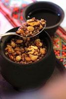 Kutia (Xmas dessert made with wheat,poppy seeds & honey,