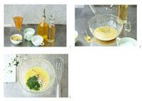 Making herb vinaigrette 22199056547| 写真素材・ストックフォト・画像・イラスト素材|アマナイメージズ